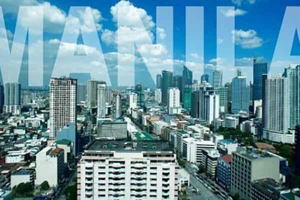 马尼拉城市俯瞰