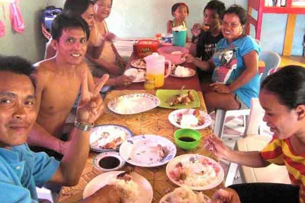菲律宾人餐桌