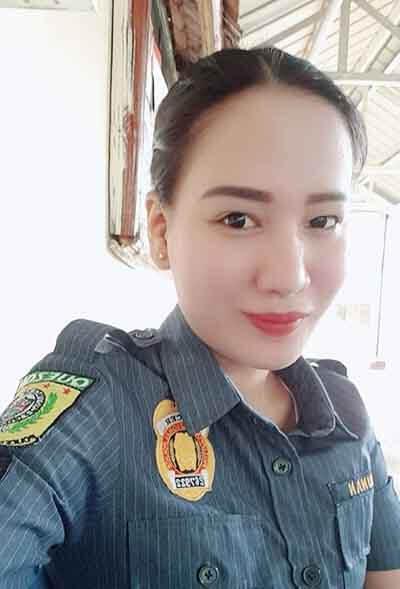 菲律宾女美女警察