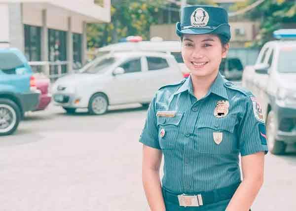 菲律宾美女警察