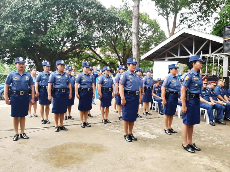 菲律宾女警