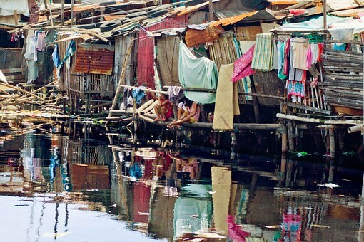 菲律宾宿雾贫民窟