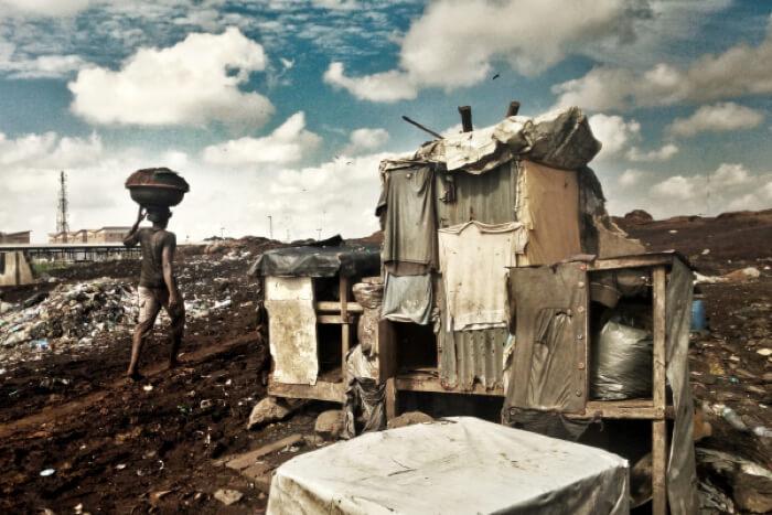 贫民窟人的工作