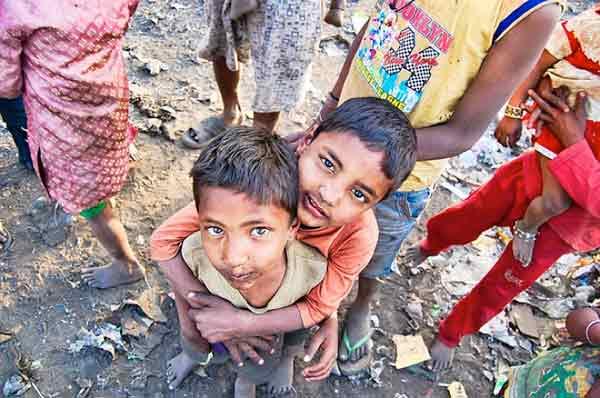 贫民窟的孩子