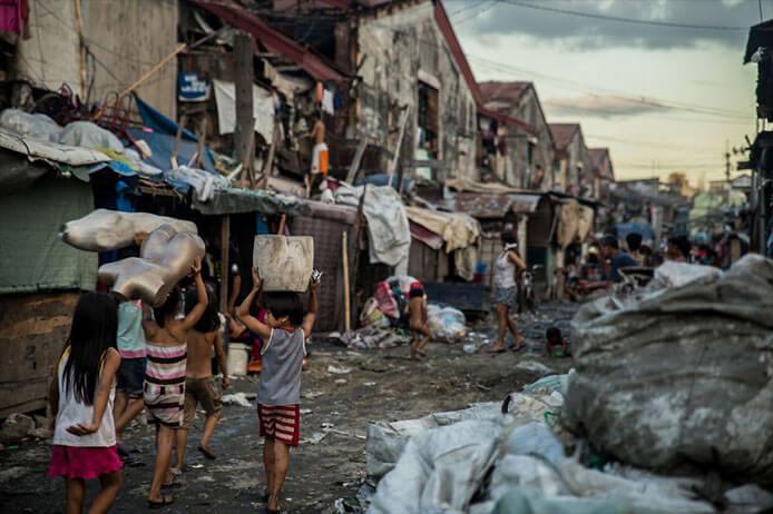 菲律宾穷人
