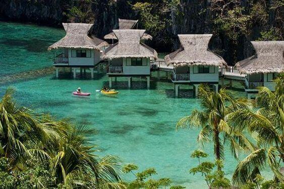 菲律宾旅游海景水上酒店