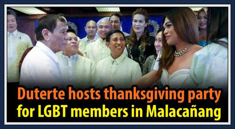 菲律宾LGBT-杜特尔特
