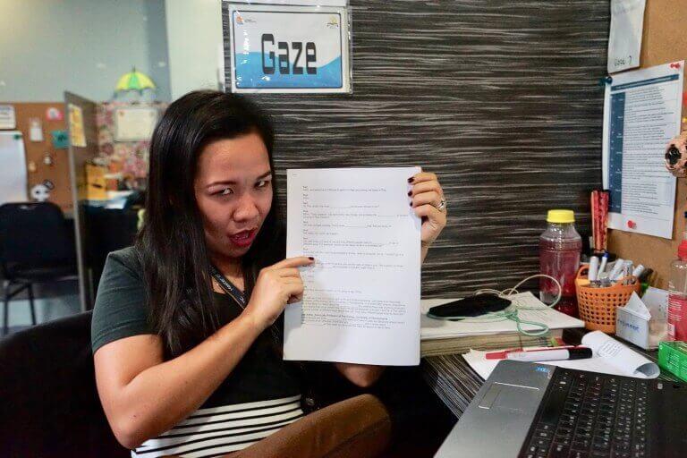 菲律宾游学经验攻略-雅思测试