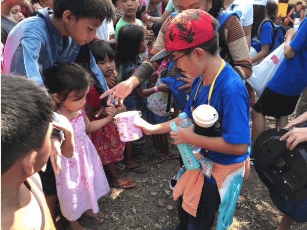 菲律宾游学的孩子