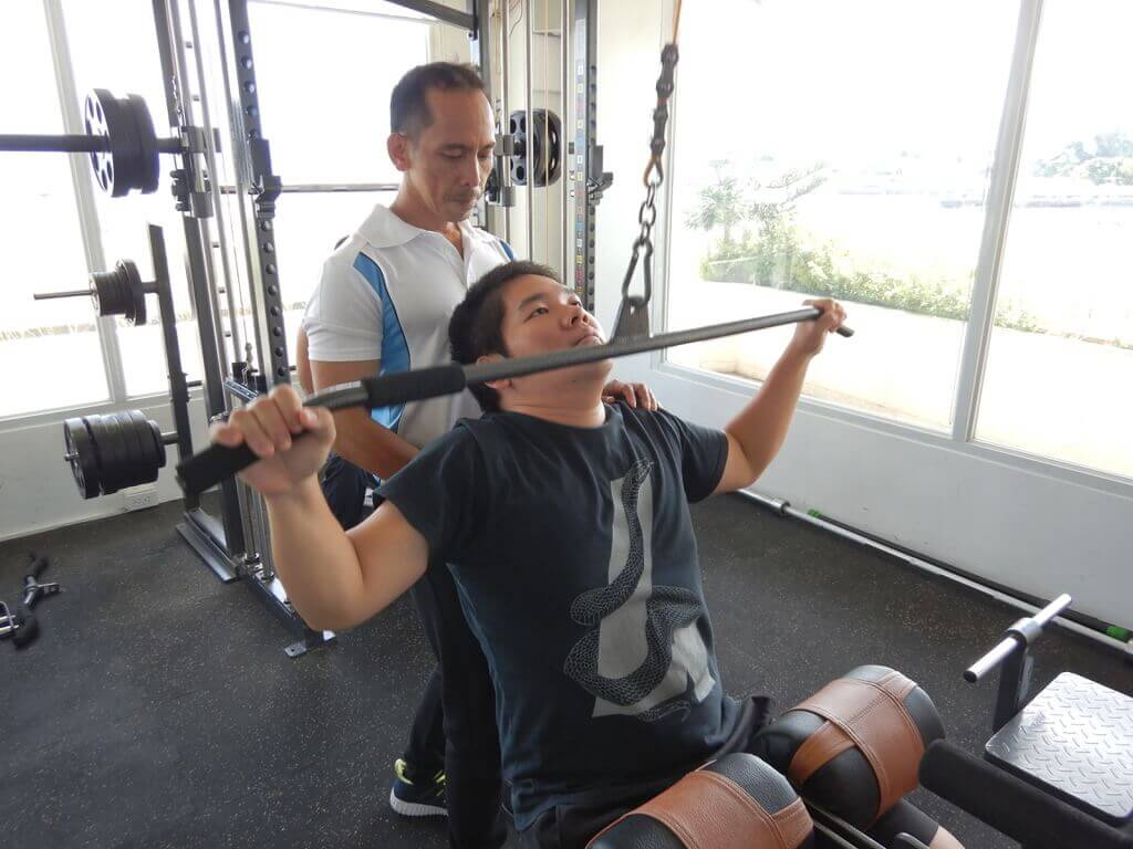 菲律宾游学健身-健身