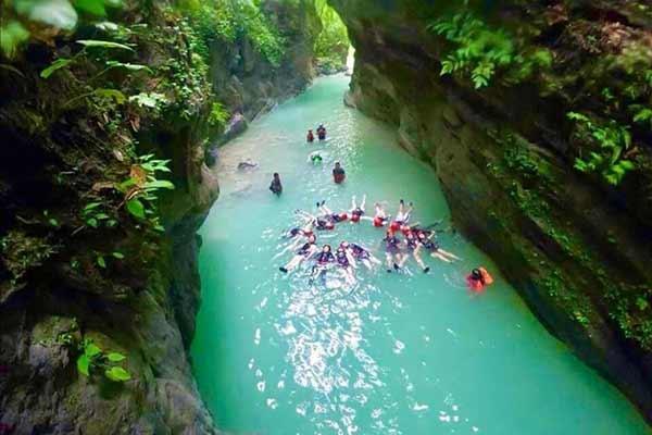 菲律宾游学经验攻略-蹦谷跳水