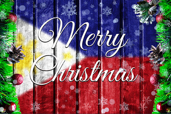 菲律宾圣诞节,国旗