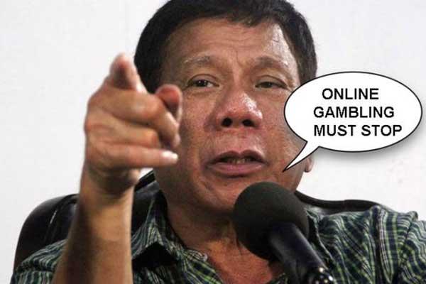 菲律宾总统-网络博彩-发言