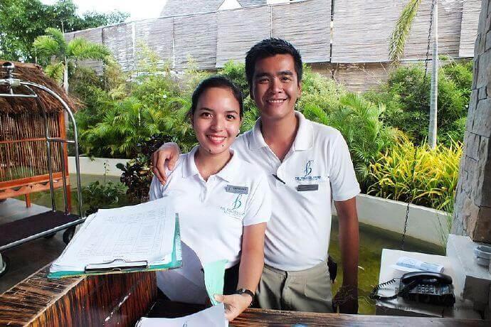 菲律宾人微笑