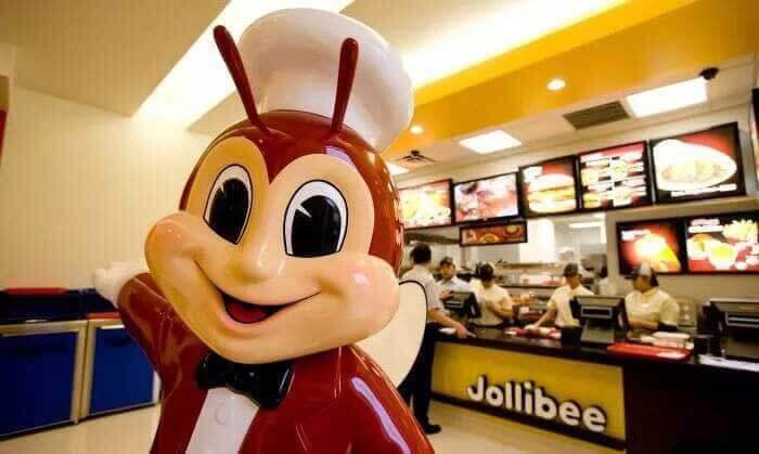 焦力比jollibee 菲律宾快餐