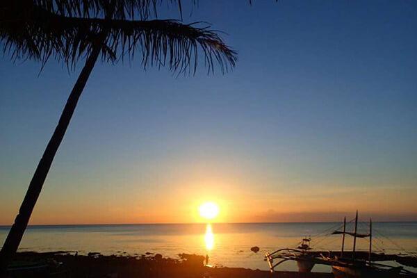 菲律宾时间,夕阳