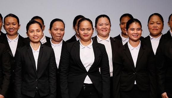 菲律宾人微笑-菲佣