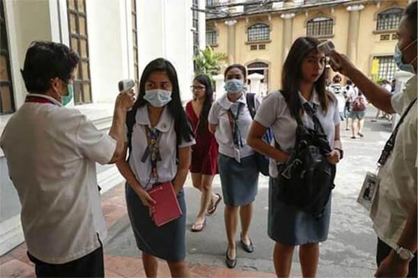 菲律宾抗击疫情,疫情防控