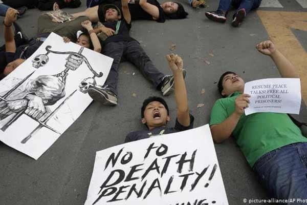 菲律宾死刑-国民抗议