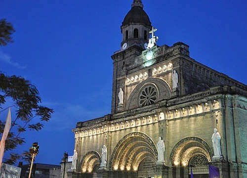 马尼拉教堂旧景