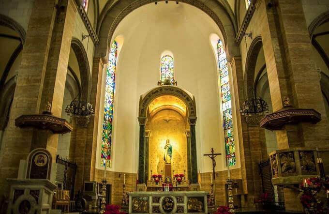 马尼拉大教堂内景