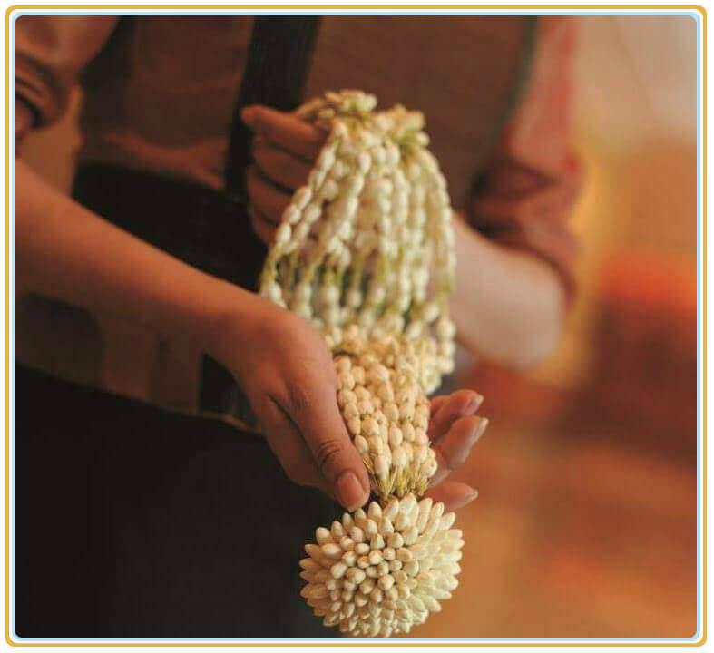 菲律宾国花 :迎接贵宾的花串