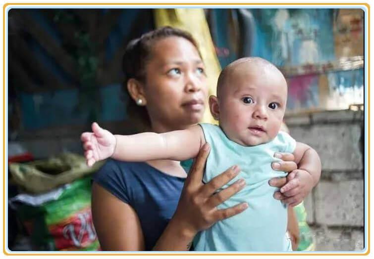菲律宾新生儿