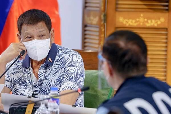 菲律宾总统注射疫苗