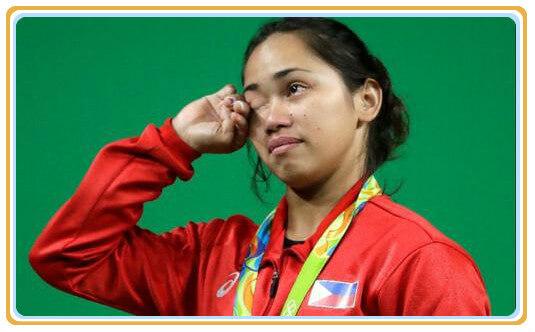菲律宾奥运金牌数:举重运动员