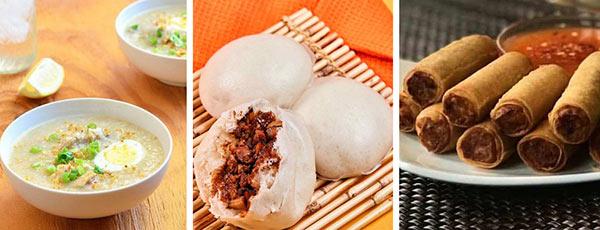 菲律宾与中国美食