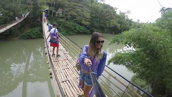 菲律宾恐怖吊桥