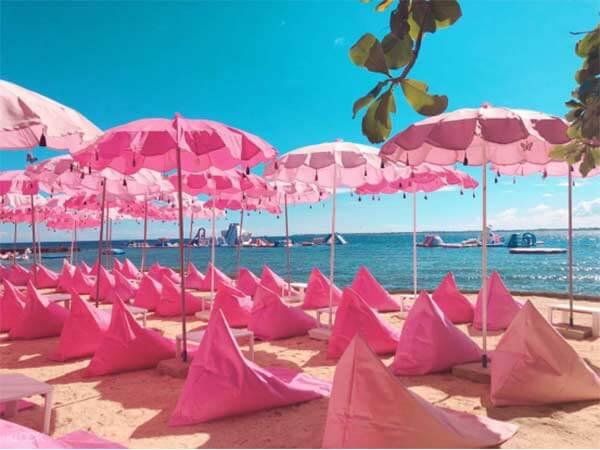 菲律宾粉红沙滩