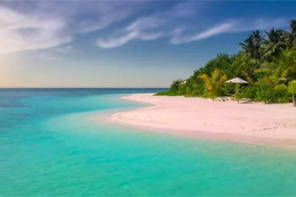 菲律宾粉红海滩