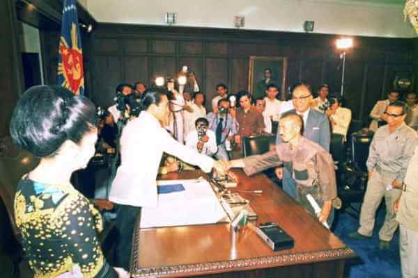 菲律宾竟原谅日本军官